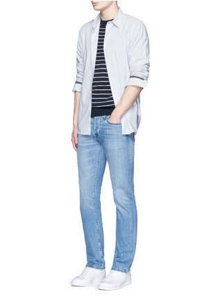 Figure View - Click To Enlarge - 3x1 - 'M4' low rise straight leg jeans