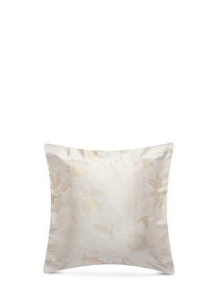 Main View - Click To Enlarge - Frette - Luxury Symphony Gold jacquard Euro sham