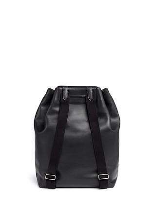 Back View - Click To Enlarge - The Row - 'Backpack 11' leather drawstring backpack