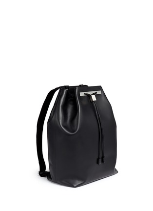Front View - Click To Enlarge - The Row - 'Backpack 11' leather drawstring backpack