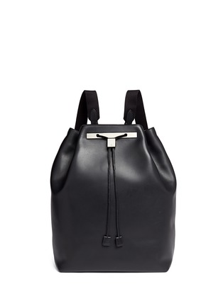 Main View - Click To Enlarge - The Row - 'Backpack 11' leather drawstring backpack