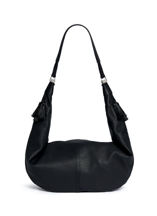 Back View - Click To Enlarge - The Row - 'Sling 15' grainy leather hobo bag