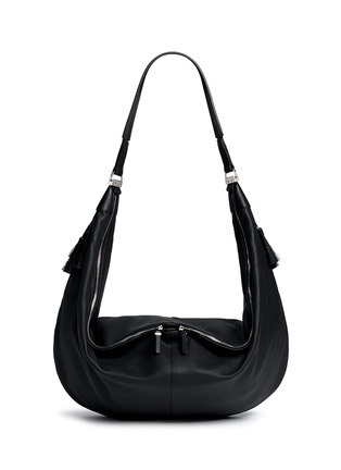 Main View - Click To Enlarge - The Row - 'Sling 15' grainy leather hobo bag