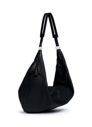 Figure View - Click To Enlarge - The Row - 'Sling 15' grainy leather hobo bag