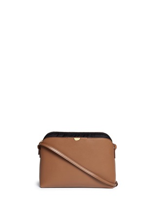 Main View - Click To Enlarge - The Row - 'Multi-pouch' leather nylon shoulder bag