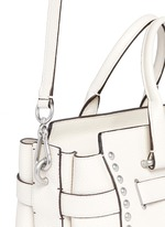 'Swagger' rivet leather tote