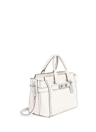 COACH - 'Swagger' rivet leather tote