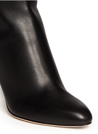 Detail View - Click To Enlarge - Jimmy Choo - 'Grand' grainy calf leather boots