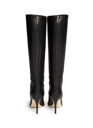 Back View - Click To Enlarge - Jimmy Choo - 'Grand' grainy calf leather boots