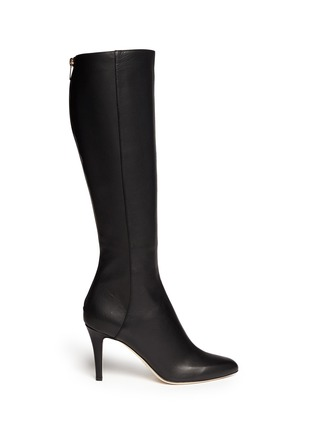 Main View - Click To Enlarge - Jimmy Choo - 'Grand' grainy calf leather boots