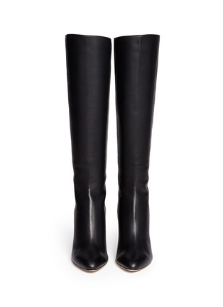 Figure View - Click To Enlarge - Jimmy Choo - 'Grand' grainy calf leather boots