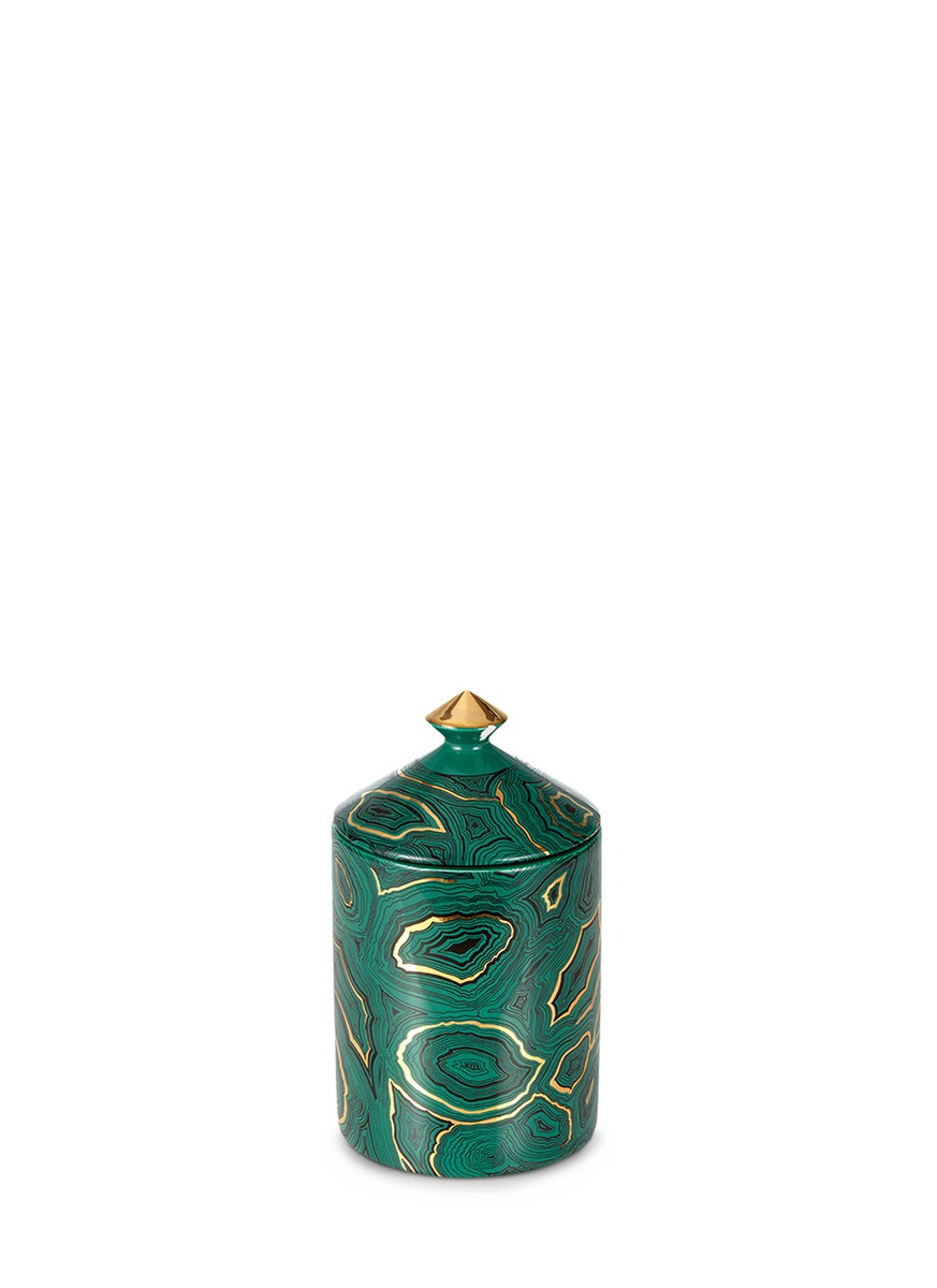 Malachite scented candle 300g by Fornasetti