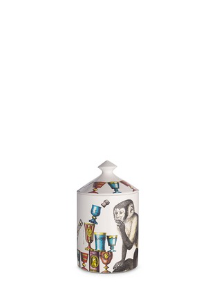 Figure View - Click To Enlarge - Fornasetti - Scimmie scented candle 300g