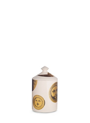 Main View - Click To Enlarge - Fornasetti - Soli E Lune Avorio scented candle 300g