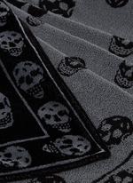 Allover skull beach towel