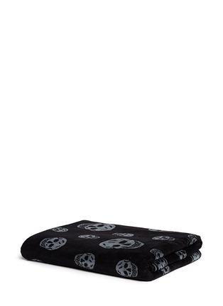 Alexander McQueen-Allover skull beach towel