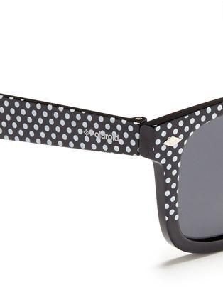 细节 - 点击放大 - POLAROID - Polka dot acetate kids polarised sunglasses