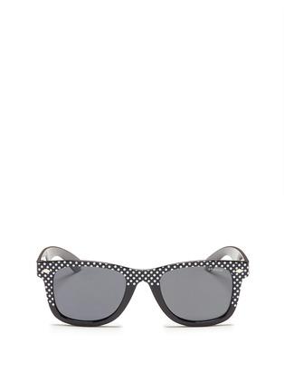 首图 - 点击放大 - POLAROID - Polka dot acetate kids polarised sunglasses