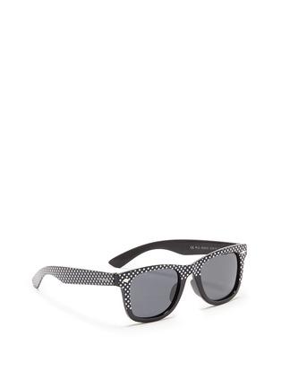 模特儿示范图 - 点击放大 - POLAROID - Polka dot acetate kids polarised sunglasses