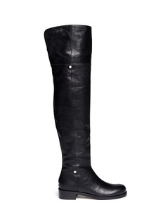 JIMMY CHOO 'Deron' shiny leather boots