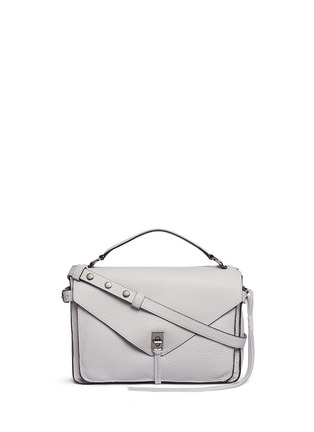 Main View - Click To Enlarge - Rebecca Minkoff - 'Darren' pebbled leather messenger satchel