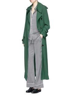 Equipmentx Kate Moss 'Avery' star print silk pyjama pants