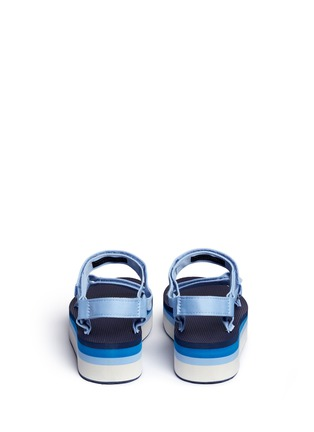 Back View - Click To Enlarge - Teva - 'Flatform Universal Retro' sandals