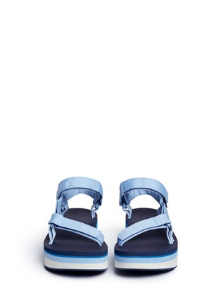 Front View - Click To Enlarge - Teva - 'Flatform Universal Retro' sandals