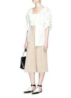 TOGA ARCHIVESBalloon sleeve embossed taffeta blouse