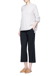 Vince Wool tailored suiting culottes