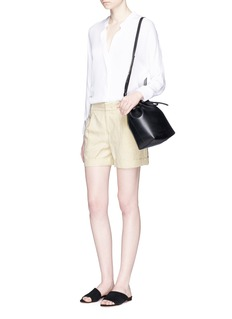 Vince Slouchy twill shorts