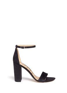 Sam Edelman'Yaro' ankle strap suede sandals
