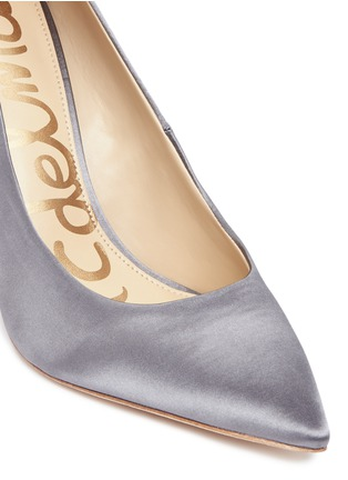 Detail View - Click To Enlarge - Sam Edelman - 'Hazel' satin pumps