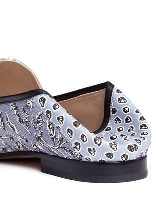 Detail View - Click To Enlarge - Sam Edelman - 'Loraine' horsebit floral print loafers