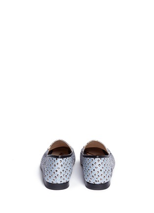 Back View - Click To Enlarge - Sam Edelman - 'Loraine' horsebit floral print loafers