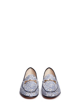Front View - Click To Enlarge - Sam Edelman - 'Loraine' horsebit floral print loafers