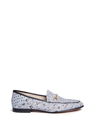 Main View - Click To Enlarge - Sam Edelman - 'Loraine' horsebit floral print loafers