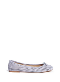 Sam Edelman 'Felicia' perforated suede ballet flats