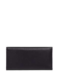 Alexander McQueen Skull leather travel wallet