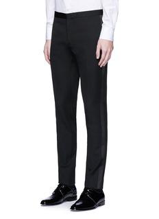 Saint LaurentSatin stripe virgin wool tuxedo pants