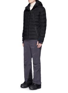 AZTECH MOUNTAIN Nuke Suit' down puffer flannel jacket