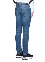 Skinny fit cotton denim jeans