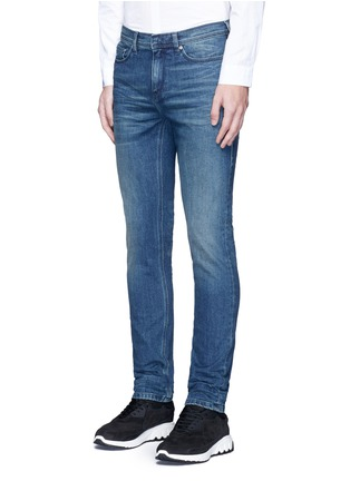 Front View - Click To Enlarge - Neil Barrett - Skinny fit cotton denim jeans
