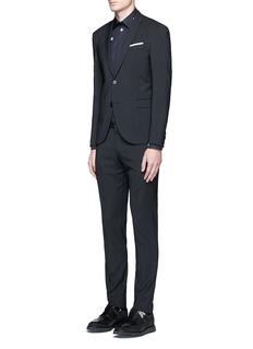 Neil BarrettSlim fit stripe suit