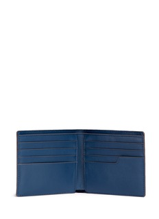 Anya Hindmarch 'Wink' perforated leather bifold wallet