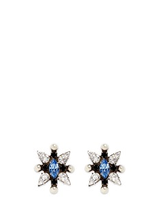 Dannijo 'Linella' Swarovski crystal stud earrings
