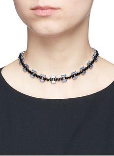 Dannijo'Lucca' Swarovski crystal necklace