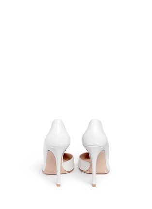 Back View - Click To Enlarge - Gianvito Rossi - 'Biba' calfskin leather pumps
