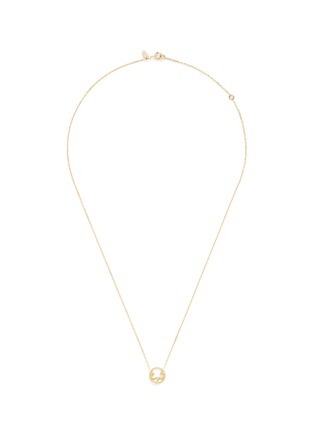 Main View - Click To Enlarge - Ruifier - 'Joy' diamond 9k yellow gold pendant necklace