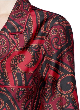Detail View - Click To Enlarge - F.R.S For Restless Sleepers - 'Era' paisley print silk pyjama shirt
